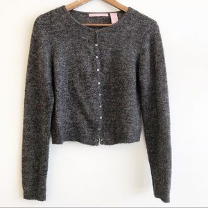 ANTHROPOLOGIE EASEL Mohair Blend Cardigan Sweater